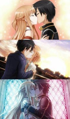 Perfect kiss #SAO
