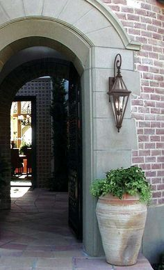 Add an elegant touch to the exterior of your home while shining a light on your entry way with Geneva Outdoor Lanterns.