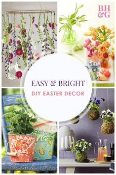Need Some Easter Decorating Inspiration? Our Easter Worthy Decorating Ideas  Are A Pretty And