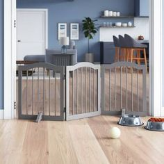 online shopping for Howlett Arched Decorative Free Standing Pet Gate from top store. See new offer for Howlett Arched Decorative Free Standing Pet Gate Pet Furniture, Furniture Styles, Freestanding Dog Gate, Tall Pet Gate, Indoor Dog Gates, Dog Barrier, Small Doors, Animal Room, Baby Gates