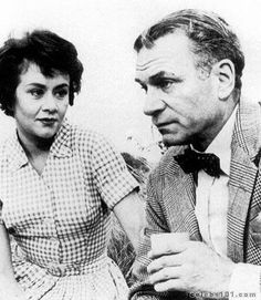 Joan Plowright and Sir Lawrence Olivier - married 20 yrs., until his death.