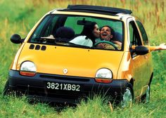 Twingo, my host brother had one of these and scared the shit outta me on a regular bases tight corners plus little tall car = scared american