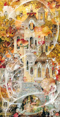 """Eye of a Dreamer"" ~ Daniel Merriam ~ Watercolorist Extraordinaire ~ Miks' Pics ""Daniel Merriam lll"" board @ http://www.pinterest.com/msmgish/daniel-merriam-lll/"
