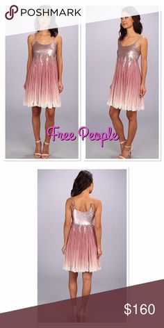 🌺Free People Supernova Dress🌸 Free people dress in washed lilac size 8. NWT, never worn. Lightweight party dress features an unforgettable sparkling design and layered, ruffled skirt. Sale price is firm.  * Scoop neckline and sleeveless construction * Shimmering bodice with glitter throughout the dress. * Thick shoulder straps with adjustable ties * Tiered detailing at swingy, ruffled skirt. * Curved hem * Shell: 100% viscose.Lining: 100% polyester * Machine wash cold, line dry. * Imported…