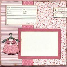 Best 25+ Baby girl scrapbook ideas