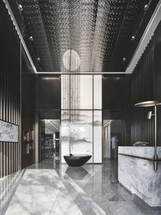 - Best ideas for decoration and makeup - Office Entrance, Office Lobby, Clubhouse Design, Experience Center, Lobby Design, Property Development, Living Styles, Hotel Lobby, Design Firms
