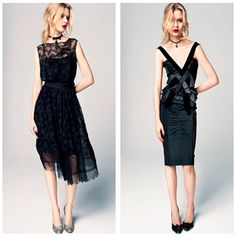 More Nina Ricci Pre-Fall 2012. Love both dresses, although the super skinny model does no justice to the dress on the right.