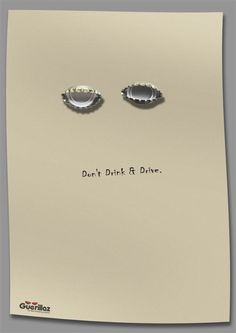 """Don't drink & drive"" campaign by Guerillaz"