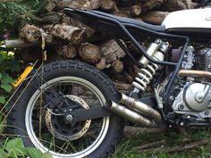 Suzuki Tracker by TPCustom – BikeBound Ktm 525 Exc, Ktm Exc, Custom Motorcycles, Custom Bikes, Dr 650, Mx Bikes, Custom Tanks, Motocross Racing, Cars