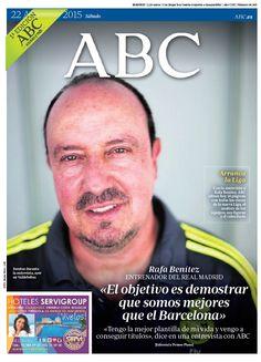 La portada de ABC del sábado 22 de agosto