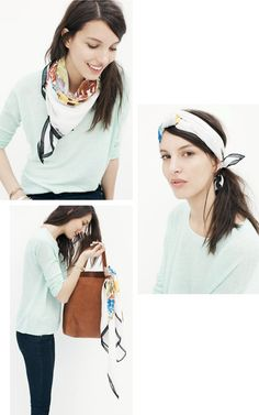 scarf styling