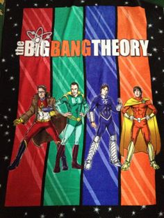 The Big Bang Theory Hero Blanket by pd006 on Etsy, $55.00