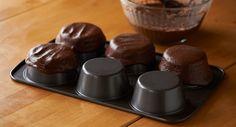 Crisp Brownie Sundae Cups