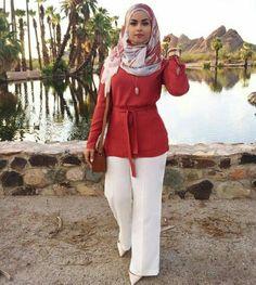fall hijab style, http://www.justtrendygirls.com/modest-street-hijab-fashion/