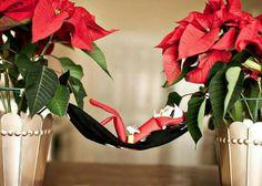 Elf hammock #elfontheshelf