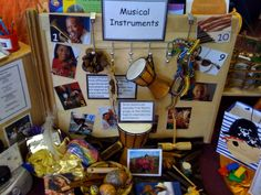 Music area at Huddersfield Early Excellence