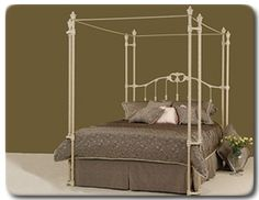 Elliott S Designs Tiffany 403 Wrap Open Toe Canopy Bed