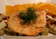 Roasting Arctic char with fennel is a delicious way to prepare this mild, family-friendly fish!