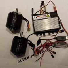 APS 150Amp 6.4KW Twin motors E-board DIY Kit