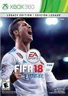 FIFA 18: Legacy Edition (Microsoft Xbox 360 2017)