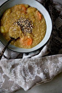 Paciocchi di Francy: Amaranto con lenticchie, carote e mele ( veg, senz...