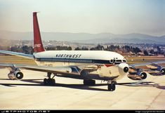 The first visit to Australia by the President of the Republic of Korea occurred on 16Sep1968. His Excellency President Park Chung-Hee arrived at RAAF Base Fairbairn, Canberra (YSCB), in pristine chartered Northwest Orient Boeing 707-351C N386US Cn 19777. The aircraft is shown blowing up dust while taxying in for the President's VIP arrival at Fairbairn. The President departed Canberra in the same aircraft on 18Sep1968. The President's Daughter was also on the two-day Visit to Canberra. She… Boeing 707, Boeing Aircraft, Republic Airlines, Northwest Airlines, Korean President, Luxury Jets, Private Pilot, Air Festival, Commercial Aircraft
