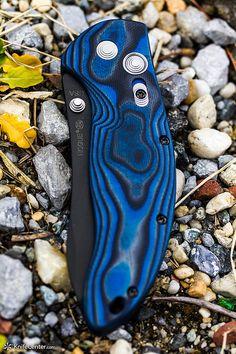 Hogue EX04 Blue by knife center, via Flickr