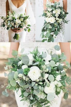 Chic simple white and greenery wedding bouquet bouquets dark 35 Simple White and Greenery Wedding Bouquets Winter Bridal Bouquets, Bride Bouquets, Bridal Flowers, Flower Bouquet Wedding, Floral Wedding, Flower Bouquets, Emerald Wedding Colors, Wedding Decorations, Wedding Centerpieces