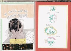 """thejournalclub: """" crestfallen-art: """" i finished confessional so heres the last few pages """" amazing! Art Journal Inspiration, Art Inspo, Journal Ideas, Journal Entries, Sketchbook Pages, Sketchbook Ideas, Comic Tutorial, Art Therapy Projects, Tumblr Art"""
