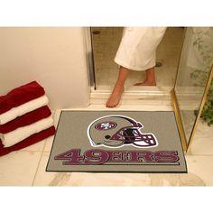 San Francisco 49ers NFL All-Star Floor Mat (34x45)