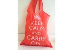 Keep Calm and Carry On tas