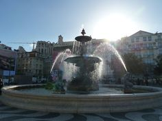 Just a cool fountain and loads of #sunshine.