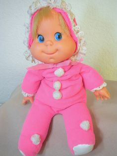 Vintage 1970 Baby Beans. I always thought this doll was a little strange, but I never knew it was widely popular.