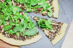 Portobello Carpaccio Pizza
