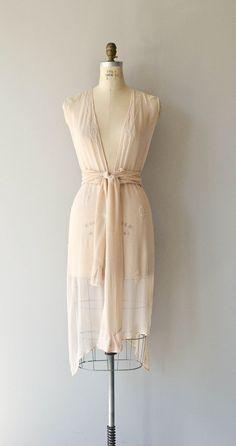 Biarritz tabard dress 1920s silk chiffon dress por DearGolden