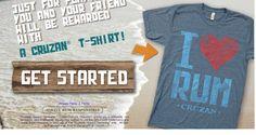 *HOT* FREE Cruzan T-Shirt! - Raining Hot Coupons