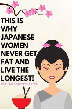 Japanese women hold the record for the longest living women worldwide for almost the last 30 Years! The average lifespan of a Japanese woman is 84 years old! Even though they live the longest they … Health Benefits, Health Tips, Health And Wellness, Health Fitness, Health Facts, Women's Health, Health Care, Women's Fitness, Fitness Plan
