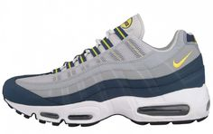 89deafb5a8 Nike Air Max 95 Vivid Sulfate Squadron Blue featuring and polyvore