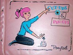 Vintage Records, Vintage Toys, Ponytail Girl, Vintage Ponytail, Vintage Children, My Childhood, Business Women, Pretty In Pink, Vintage Inspired