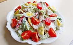 Salad with chicken breast «pleasure Healthy Salads, Healthy Recipes, Nutritional Yeast Recipes, Cooking Movies, How To Cook Asparagus, Cooking Pumpkin, Food System, Stuffed Sweet Peppers, Chicken Salad