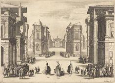 Solimano, Act I   Jacques Callot, Solimano, Act I (1620)