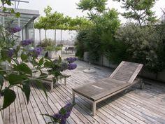 Bart & Pieter | Tuinarchitectuur - terrace - 5th floor - 180 m2 - with glass pavillion