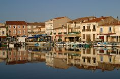 Reflections, Meze France - Nico's hometown, so beautiful!
