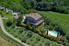 Appartementen in Casa San Carlo in Monteleone D'Orvieto in Umbrie, Italie | www.regioneumbria.eu