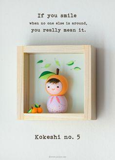 joojoo: Maemi . The fifth kokeshi