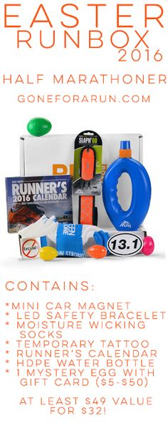 Are you the easter bunny our marathon runner easter baskets are this easter show your favorite half marathoner how much you love himher easter showeaster giftrunning negle Choice Image