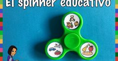 SPINNER EDUCATIVO: OTRO USO PARA APLICAR A NUESTRAS AULAS My Little Kids, Spanish 1, Speech Therapy, Teacher Resources, Education, Erika, Language, English, School