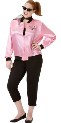 Adult Greaser Babe Costume Plus Size - Party City
