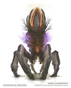 Beacon Crab - by artist Mike Corriero www.MikeCorriero.com - https://www.facebook.com/Creature.Artist