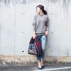 人気急上昇♡ユニクロ冬の新作オーバーニットセーターに注目 - Locari(ロカリ)